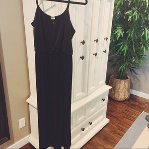 Style & co. Black maxi dress